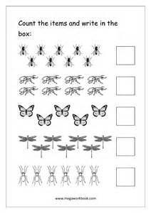 The Count and Write Number Worksheet 1-10