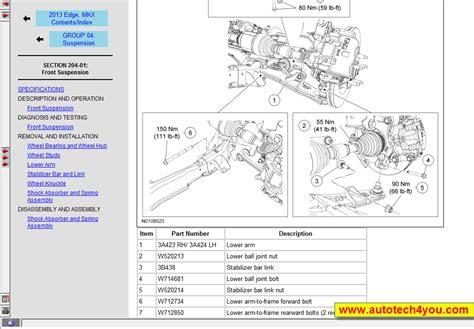 2013 Ford Fiestum Wiring Diagram by Ford Car Service Manual 1992 2013 الموقع الأول فى الشرق