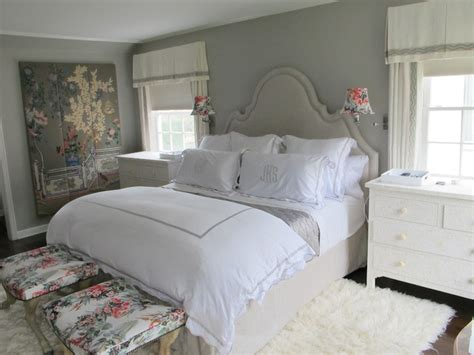 Gray Bedroom Design  Transitional  Bedroom  Amber Interiors