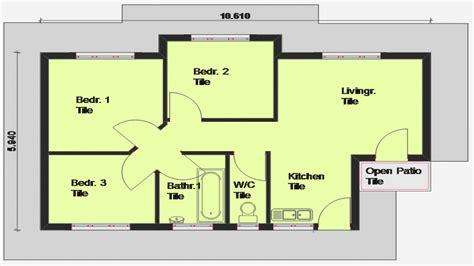 3 Bedroom House Floor Plans by 3 Bedroom House Plan South Africa 3 Bedroom Open Floor