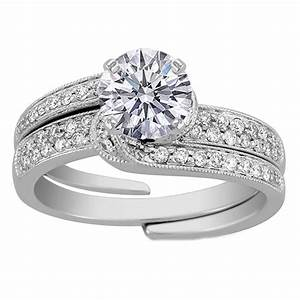 stunning wedding rings interlocking engagement rings and With interlocking engagement ring and wedding band