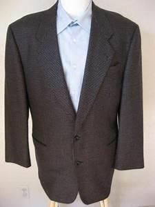 Hugo Boss Blazer 42l Dark Navy Blue Delon Wool Sport Coat 42 Long Classic Usd   123 49 End Date
