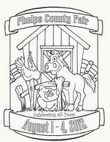 Coloring Fair Wheel Ferris Pages County Contest Printable Getcolorings Phelps sketch template