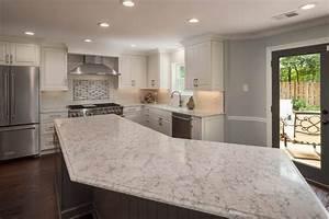 Contemporary, White, U0026, Gray, Kitchen