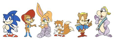 A Look Back At Sonic The Hedgehog Cartoons.