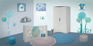 decoration chambre bebe theme nuage With theme decoration chambre bebe