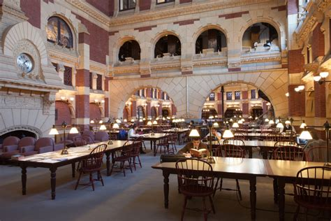 fine arts library university fisher upenn pennsylvania graduate penn building libraries circular columns forms architecture penndesign styles supported foliated boasts