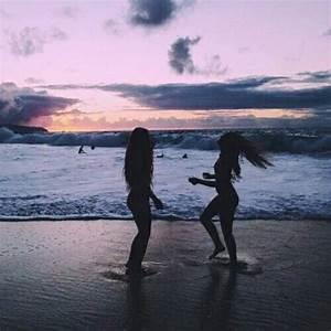 beach, best friends, bestfriends, besties, bff - image ...