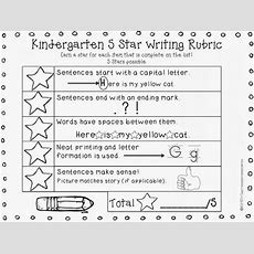 11 Fantastic Writing Rubrics For Kindergarten  Teach Junkie