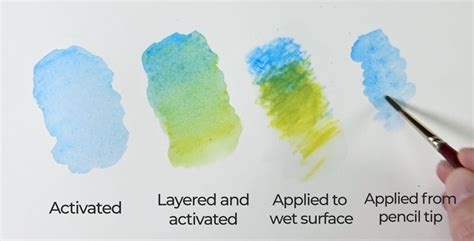 how to use water color pencils how to use watercolor pencils watercolor pencil techniques