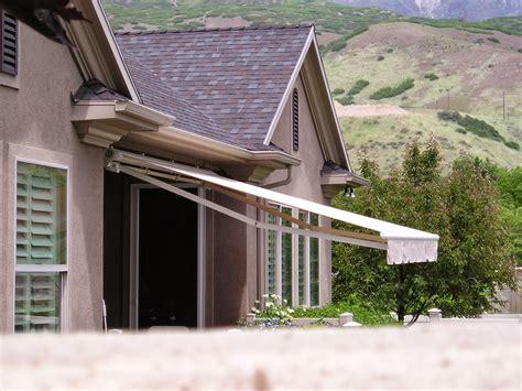 huishs awnings pergolas   utah custom retractable patio awnings