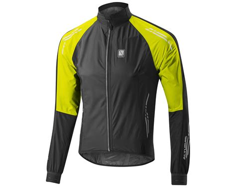 cycling waterproofs altura podium night vision waterproof cycling jacket