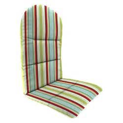 manufacturing 49 x 20 5 in outdura adirondack chair cushion outdoor cushions at hayneedle