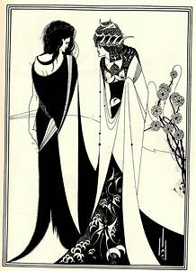 Salome with her mother - Aubrey Beardsley - WikiArt.org ...