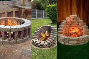 Add, A, Diy, Fire, Pit, To, Your, Backyard, Paradise