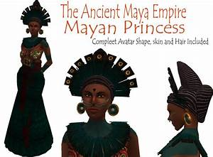 Second Life Marketplace - Mayan Princess Avatar, Maya ...
