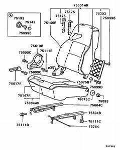 Front Seat For 1989  Montero L144g