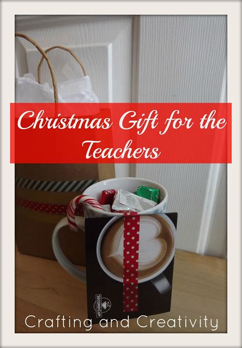 crafting and creativity christmas gift for the teachers