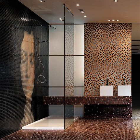Luxury Glass Tile Bathroom ? Home Ideas Collection