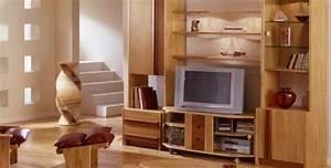 meuble en bois salon urbantrottcom With meuble salon moderne design 7 modales de meuble tv en bois archzine fr