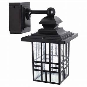 led wall lantern with gfci outlet rona With outdoor light fixtures rona
