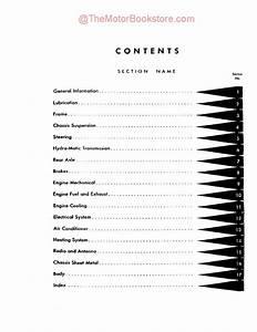 1957 - 1958 Cadillac Shop Manual   Repair Book