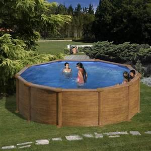 Piscine Hors Sol : piscine hors sol ronde gre mod le mauritius ~ Melissatoandfro.com Idées de Décoration