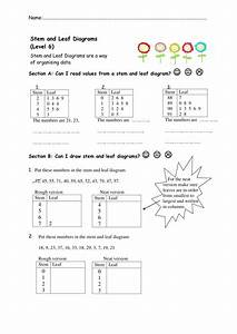Stem And Leaf Diagrams Worksheets  By Nottcl