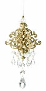 chandelier ornament christmas