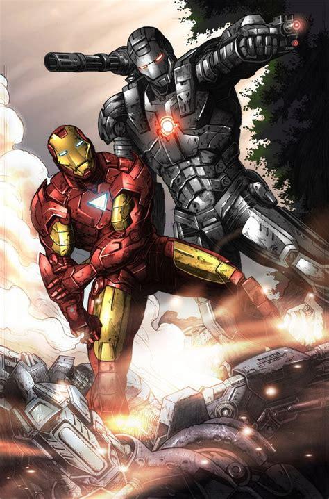 Iron Man And War Machine Iron Man And War Machine Marvel