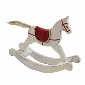 Cheval En Bois à Bascule : d coration cheval bascule bois ~ Teatrodelosmanantiales.com Idées de Décoration