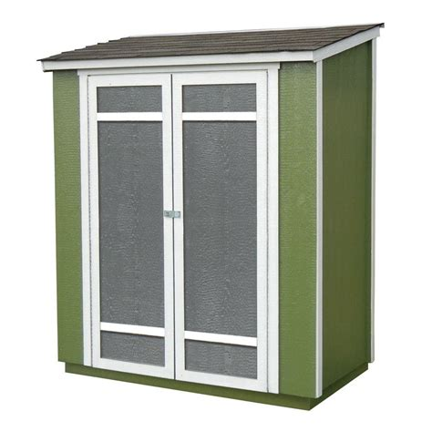 home depot storage sheds handy home products ocoee 6 ft x 3 ft wood storage shed