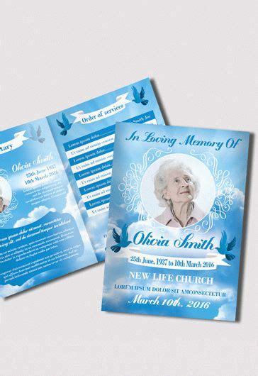 Free Funeral Trifold Brochure By Elegantflyer Free Funeral Bi Fold Psd Brochure Template By Elegantflyer