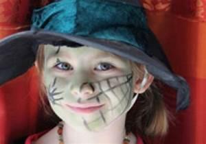 Gruselige Hexe Schminken : basteln mit kindern kostenlose bastelvorlage kinderschminken hexe ~ Frokenaadalensverden.com Haus und Dekorationen