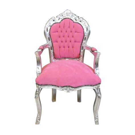 siege baroque fauteuil baroque et argent meuble baroque