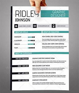 20 creative resume cv indesign templates design freebies With indesign resume template