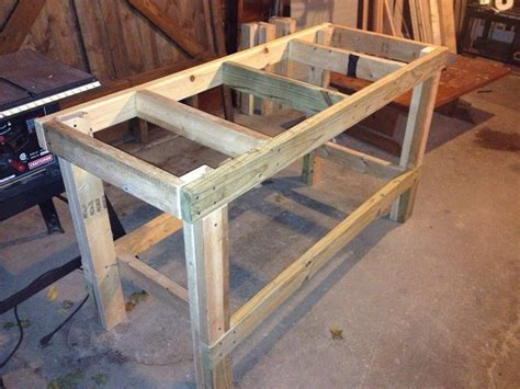 Bench Designs Simple by White Easy Workbench Diy Projects