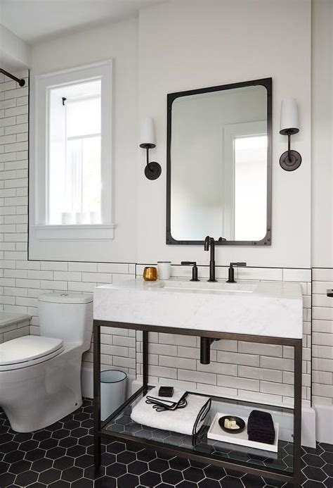 Modern Style Bathroom Mirrors by White Bathroom With Platinum Gray Shade
