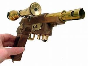 Steampunk Guns & Weapons