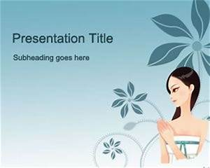 Creating Powerpoint Template Free Woman 39 S Day Powerpoint Template