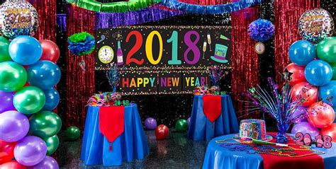 colorful decor colorful brights new year s eve theme party party city
