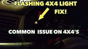 Flashing 4x4 Light Fix  Ford Explorer And Other U0026 39 S Fords