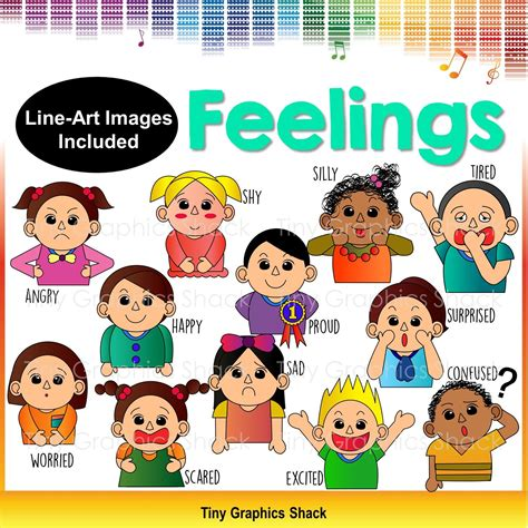 Feelings Clipart Feelings And Emotions Clip Clipart Images And Feelings