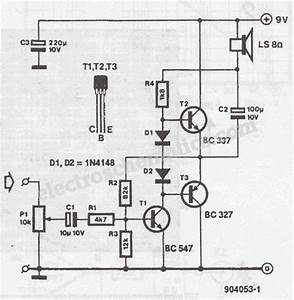 Miniature Audio Amplifier Circuit