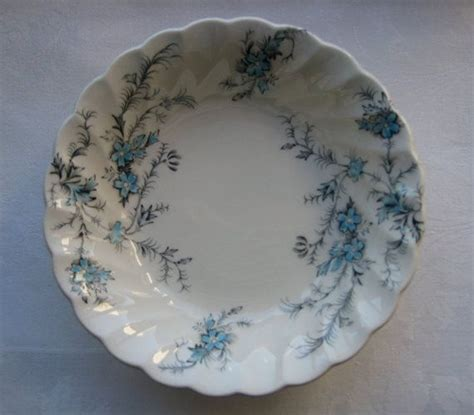 "Myott ""Forget Me Not"" Pattern   Vintage China Plates"