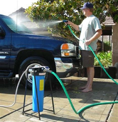 whole house filter portable water softener reviews get clean water on the go