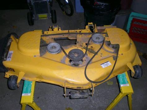 Cub Cadet Mower Deck Belt Problems by Cub Cadet Mower Deck