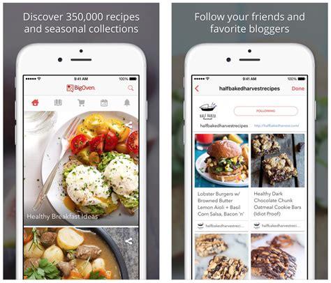 recipe apps  iphone  ipad
