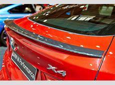 BMW X4 F26 Carbon Fiber Rear Spoiler Dry Carbon