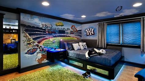 Soccer Themed Bedroom Photography by Etikaprojects Do It Yourself Project
